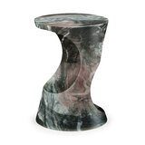 Biscayne Faux Marble Side Table