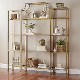 Aimee Etagere Bookcase by ..