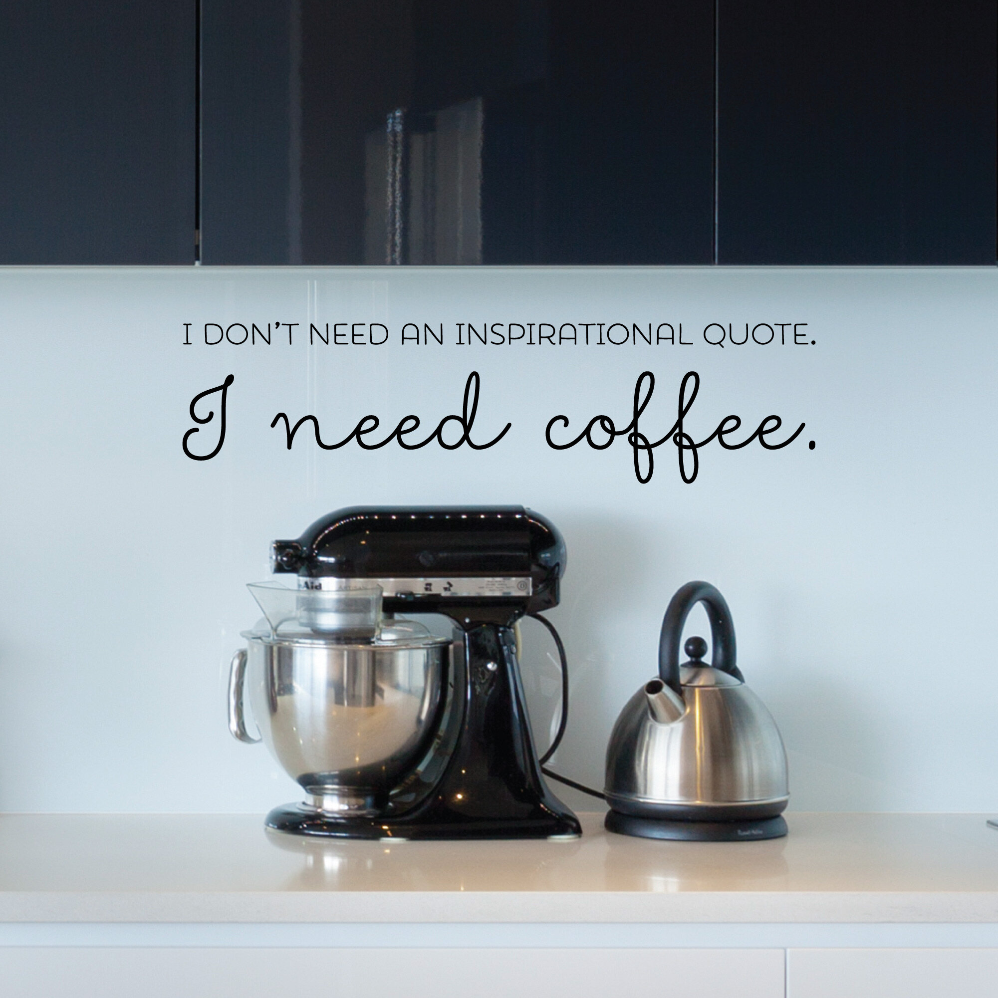Belvedere Designs Llc I Need Coffee Not An Inspirational Quote Wall