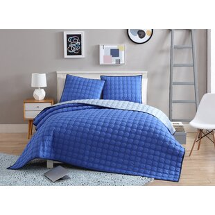 Petree 3 Piece Reversible Comforter Set