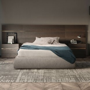 People Upholstered Platform Bed