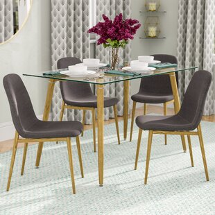 Goodman 5 Piece Dining Set Brayden Studio