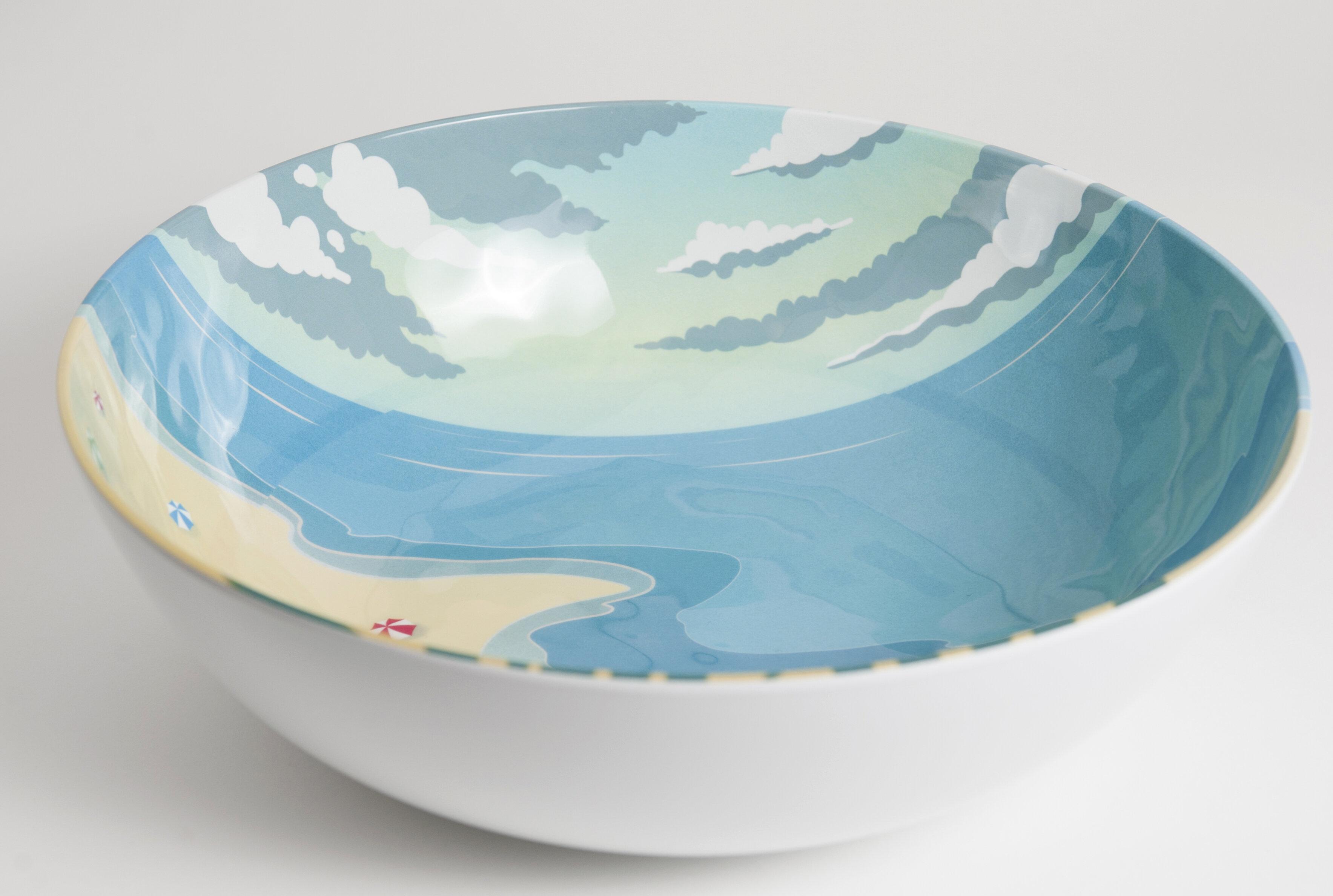 Galleyware Company Seaside Melamine Serving Bowl & Reviews | Wayfair