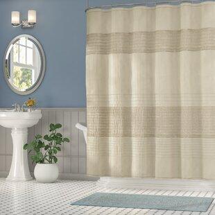 Metallic Shower Curtain | Wayfair