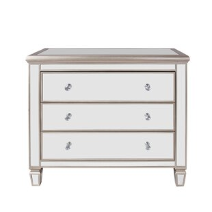 Everly Quinn Laurine 3 Drawer Accent Chest