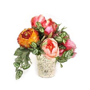 Garden Mixed Floral Arrangement in Vase