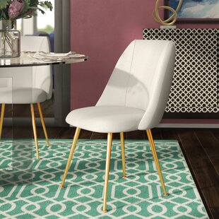 Darrius Linen Blend Upholstered Dining Chair