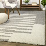Gray White Striped Area Rugs You Ll Love In 2021 Wayfair