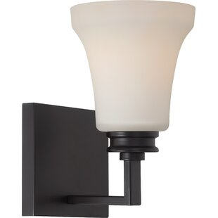 Crainville 1-Light Bath Sconce by Winston Porter