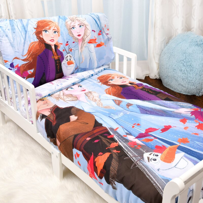 Disney Frozen Ii 3 Piece Toddler Bedding Set Reviews Wayfair Ca