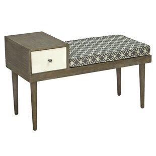 George Oliver Boston Upholstered Storage Bench