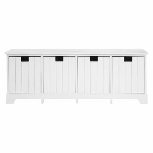 Harpers Wood Storage Bench By Beachcrest Home