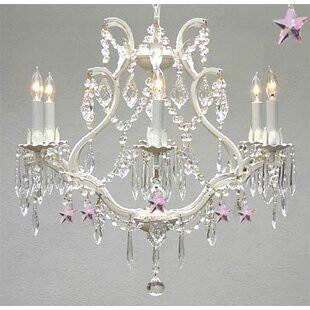 Harriet Bee Douglas Forge 6-Light Candle Style Chandelier