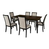 Sariah 7 Piece Dining Set by Alcott Hill®