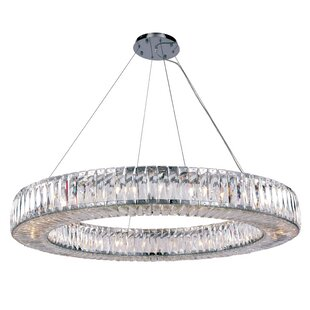 Isidora 24-Light Chandelier by Everly Quinn