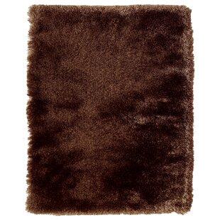 Coyan Solid Dark Brown Area Rug byWilla Arlo Interiors