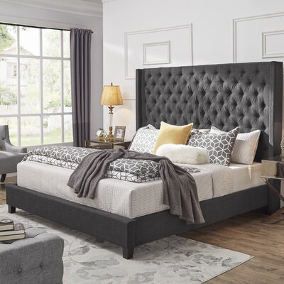 Borchers Upholstered Platform Bed