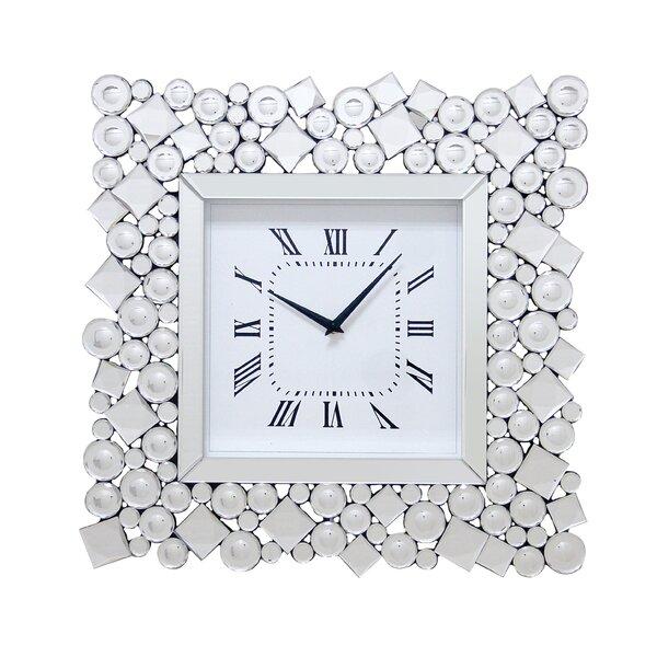 Rosdorf Park Yancey Wall Clock Wayfair