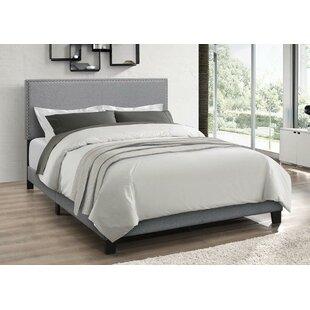 Charlton Home Draven Upholstered Panel Bed