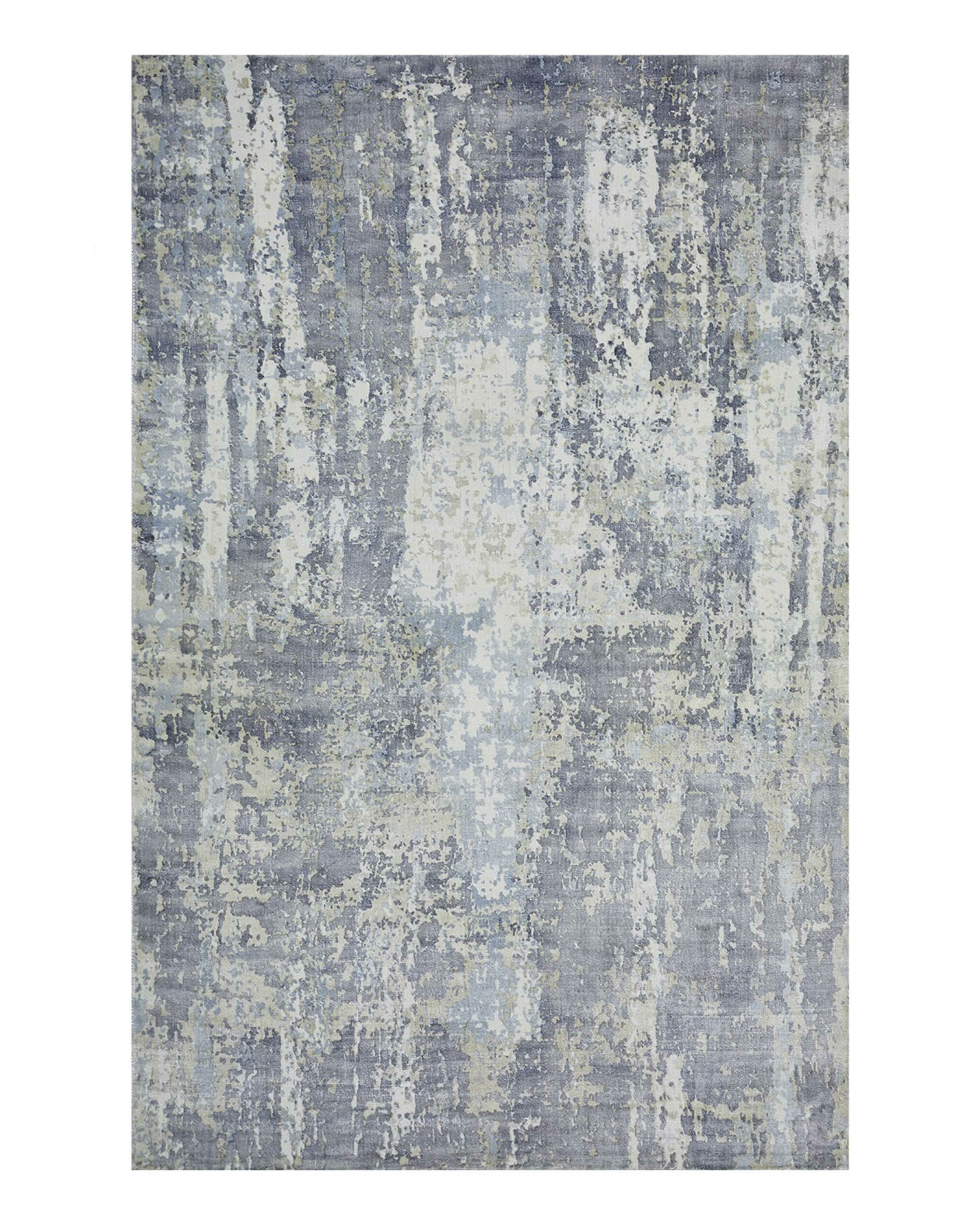 Solo Rugs Oberoi Abstract Hand Loomed Dark Blue Area Rug Perigold