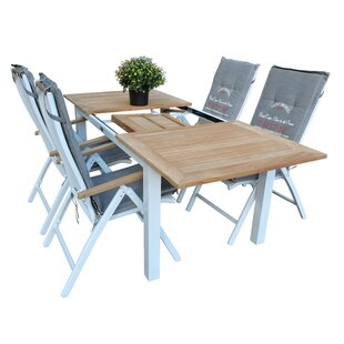 Navya Dining Set With 4 Chairs By Sol 72 Outdoor