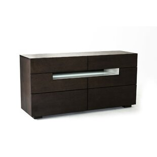 Stiffler 6 Drawer Double Dresser