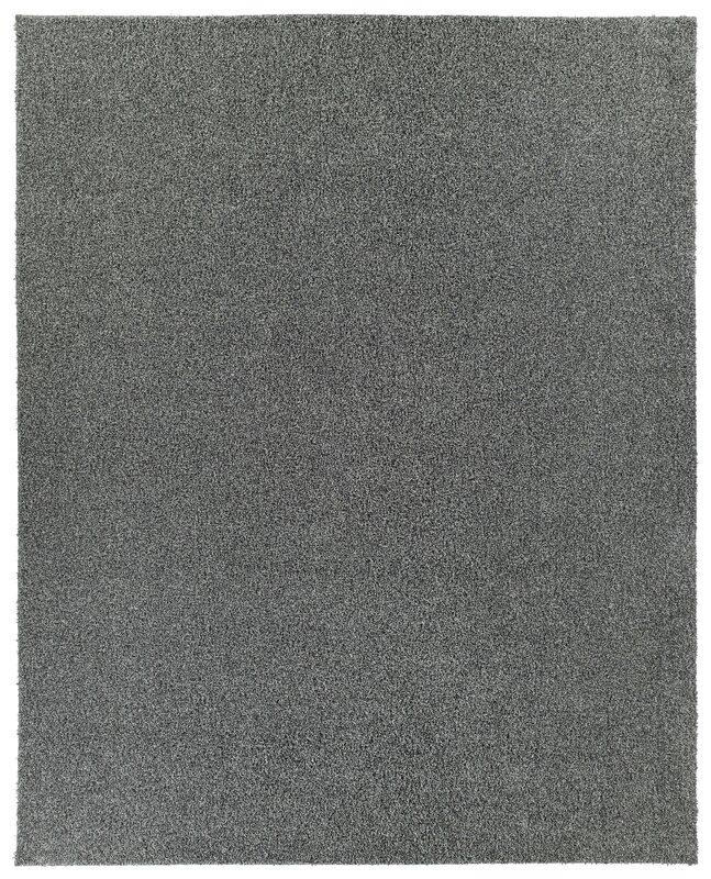 Nance Industries Puresoft Gy Dark Gray Area Rug Reviews Wayfair