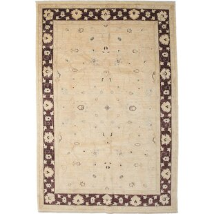 Great Price One-of-a-Kind Oushak Hand-Knotted Ivory Area Rug By Darya Rugs