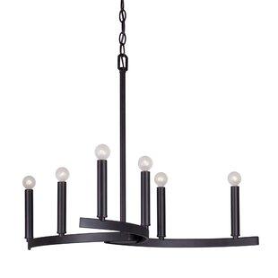 Ebern Designs Mcspadden 6-Light Chandelier
