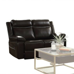 Shop Coppage Upholstered Reclining Loveseat by Ebern Designs