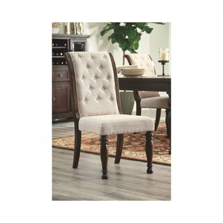Cruce Upholstered Dining Chair (Set of 2) by Charlton Home