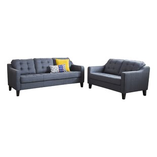 Lappin 2 Piece Living Room Set by Latitude Run