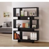 Abiegail Geometric Bookcase by Latitude Run®