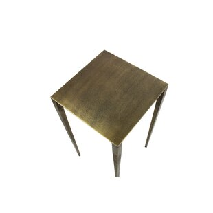 Corine Iron End Table by Williston Forge