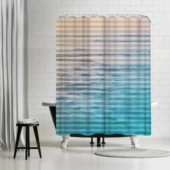 Brayden Studio Deb Mcnaughton Lost In The Ocean Single Shower Curtain Wayfair