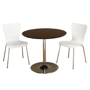 Latitude Run Salazar 3 Piece Dining Set