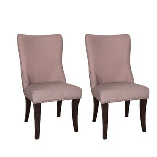 Willa Arlo Interiors Borel Parson Chair (Set of 2)