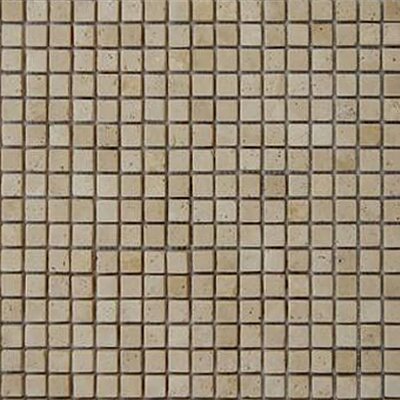 0625 x 0625 Travertine Mosaic Tile Epoch