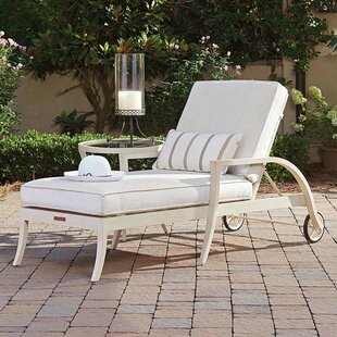Tommy Bahama Home Misty Garden Chaise Lounge With Cushion