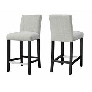 Lowther Counter Height 24.5 Bar Stool (Set of 2) Ivy Bronx