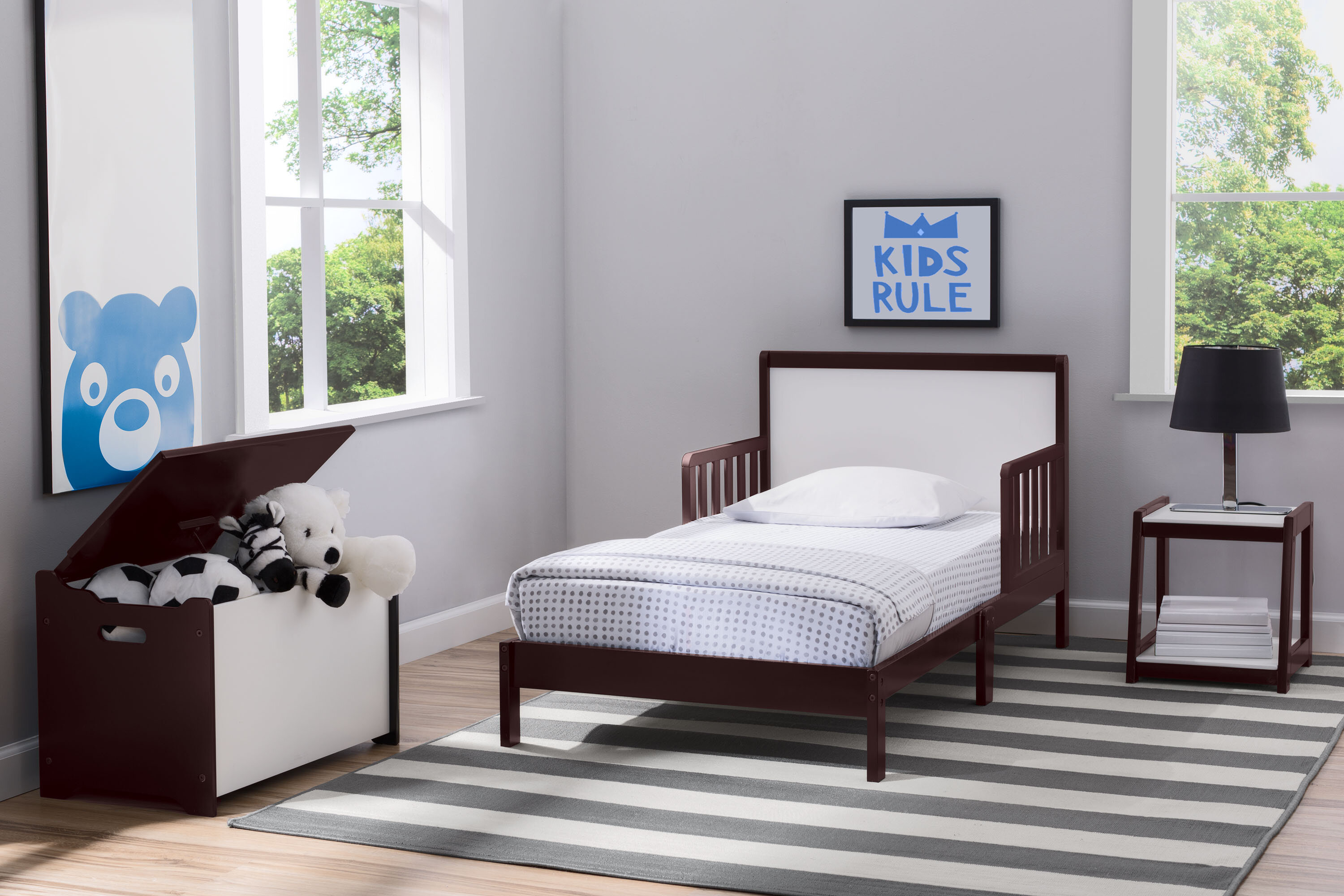 Aster Toddler Panel Configurable Bedroom Set