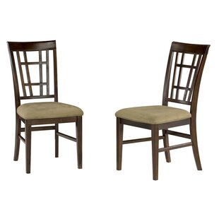 Darby Home Co Bluffview Solid Wood Dining Chair (Set of 2)