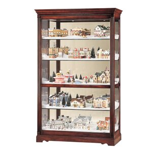 Townsend Lighted Curio Cabinet by Howard Miller®