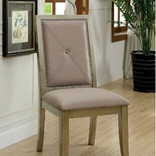 Tristian Upholstered Dining Chair (Set of 2) by Rosdorf Park
