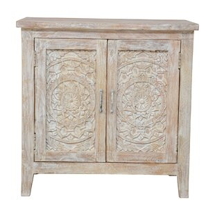 Alia Carved Nightstand by Mistana