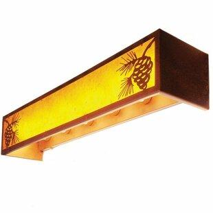 Steel Partners Pinecone 6-Light Bath Bar