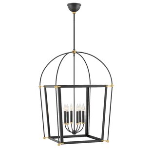 Selby 6-Light Lantern Chandelier by Hinkl..