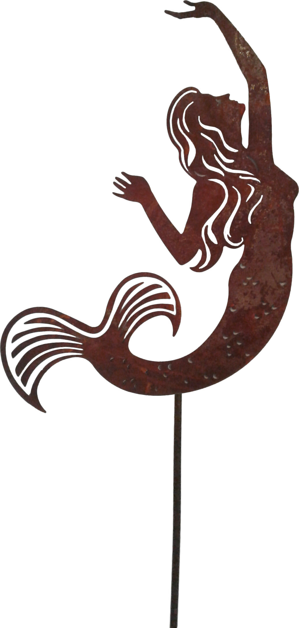Gracie Oaks Allaryce Metal Mermaid