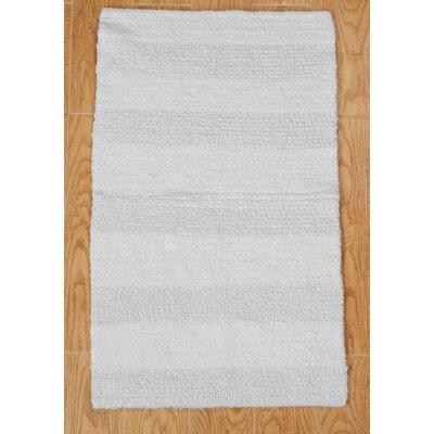 100 Cotton Wide Cut Reversible Bath Rug