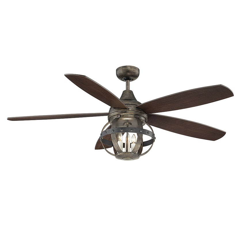 Ceiling fans youll love wayfair 52 wilburton 5 blade ceiling fan with remote mozeypictures Images